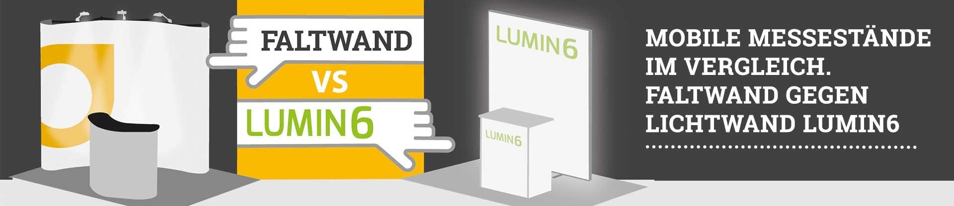 Faltwand gegen LUMIN6