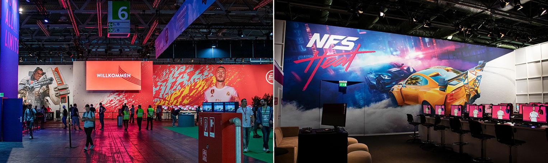 Electronic Arts auf der Gamescom 2019