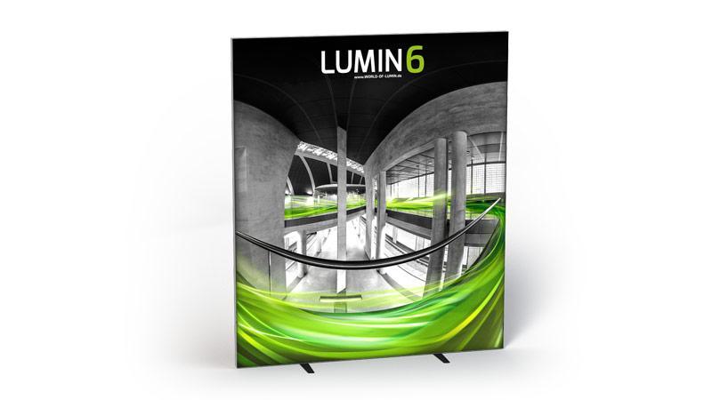 LUMIN6 Variante Rahmen 2m freistehend