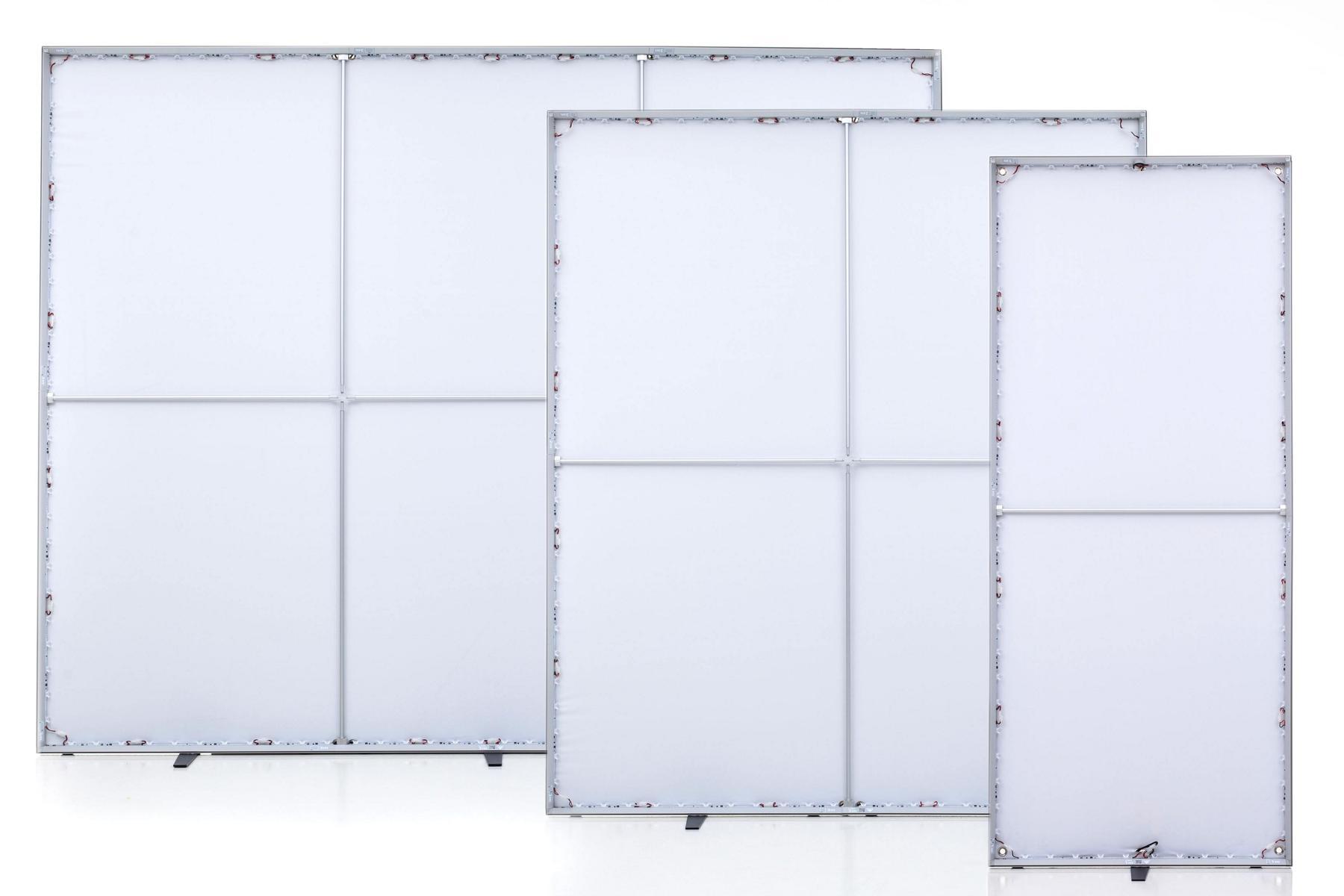 LUMIN6 1m 2m und 3m Rahmen