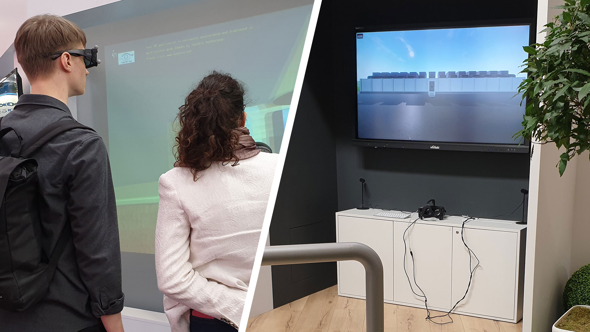 Virtual Reality am Messestand