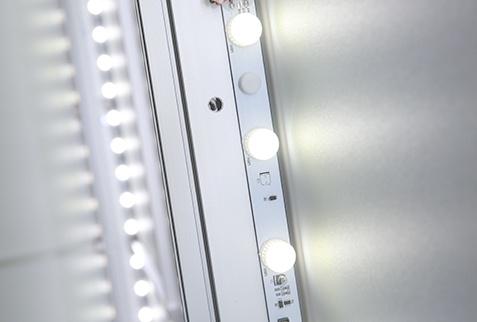 LUMIN8 Leuchtrahmen Detail