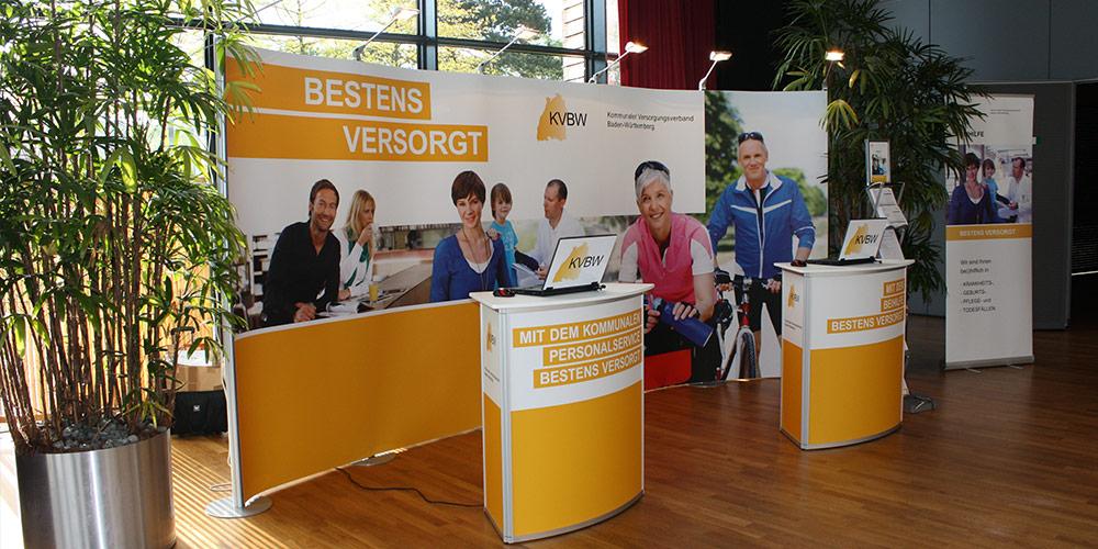 EXPOmove Messestand Kommunaler Versorgungsverband Baden-Württemberg