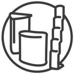 Messetheken,Prospektstaender und Messestand-Zubehoer