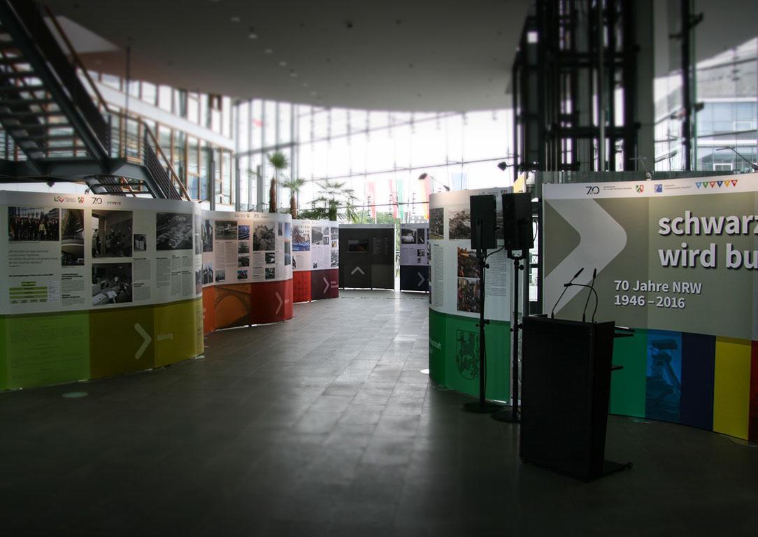EXPOmove 70 Jahre NRW Ausstellung