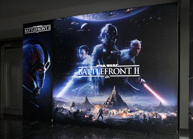 Electronic Arts Battlefront II Messewand LUMIN6
