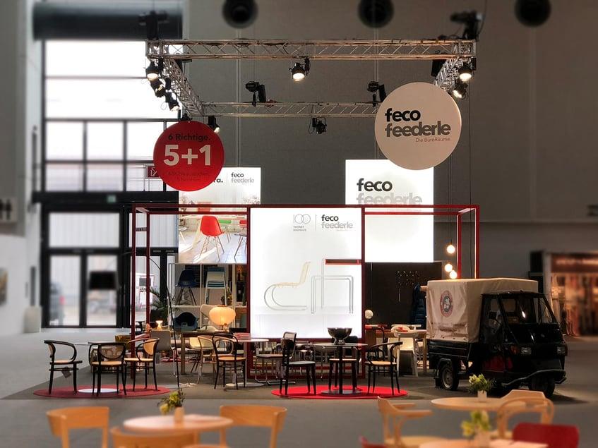 feco feederle GmbH LED Messewand