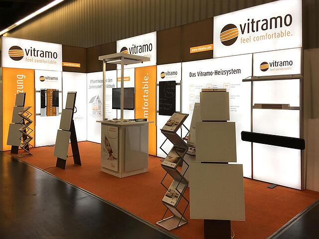 Vitramo LED Messestand LUMIN8