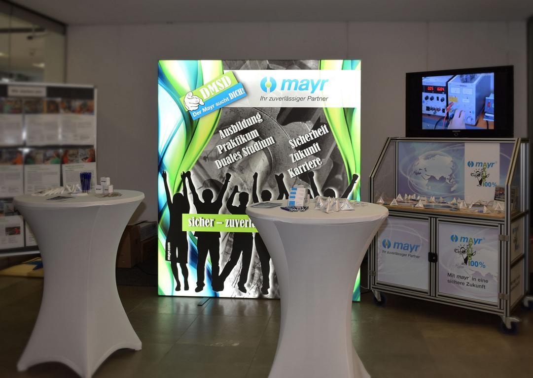Chr. Mayr GmbH Messewand