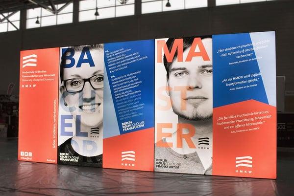 Hochschule für Medien, Kommunikation und Wirtschaft Messewand