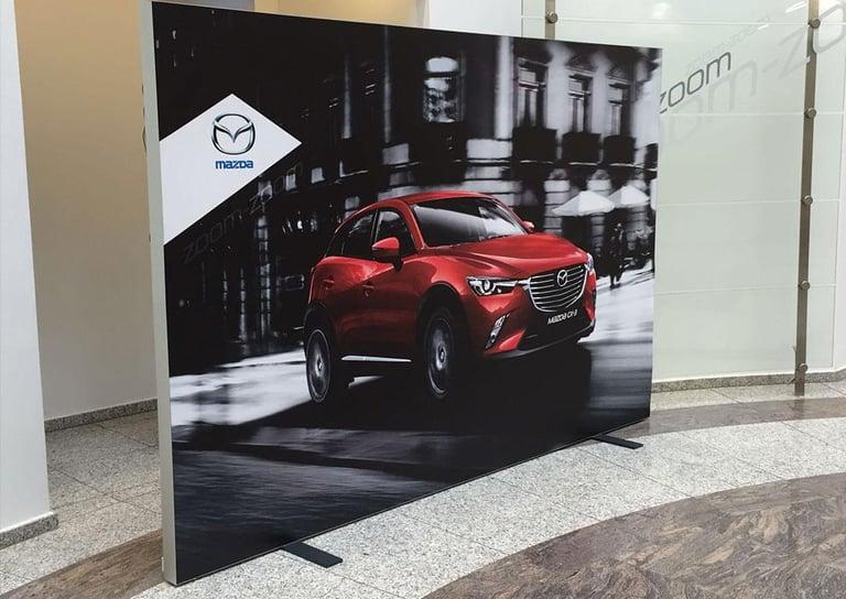 Mazda Messewand