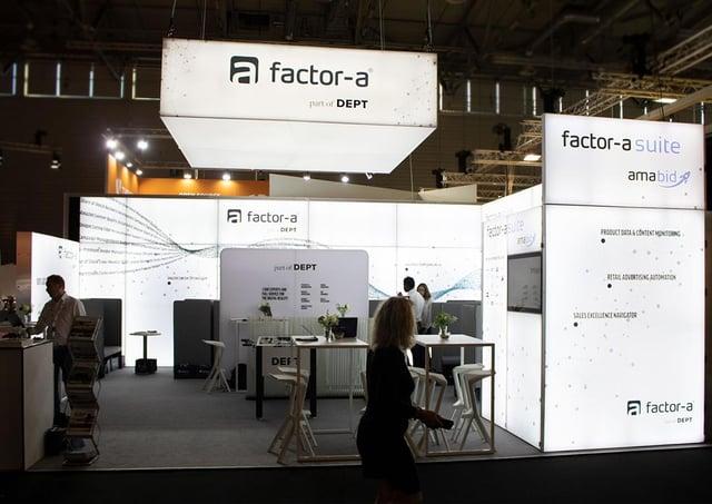 factor-a Messestand bis 100qm