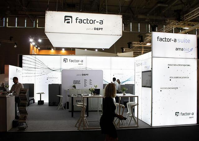 factor-a Messestand bis 100qm