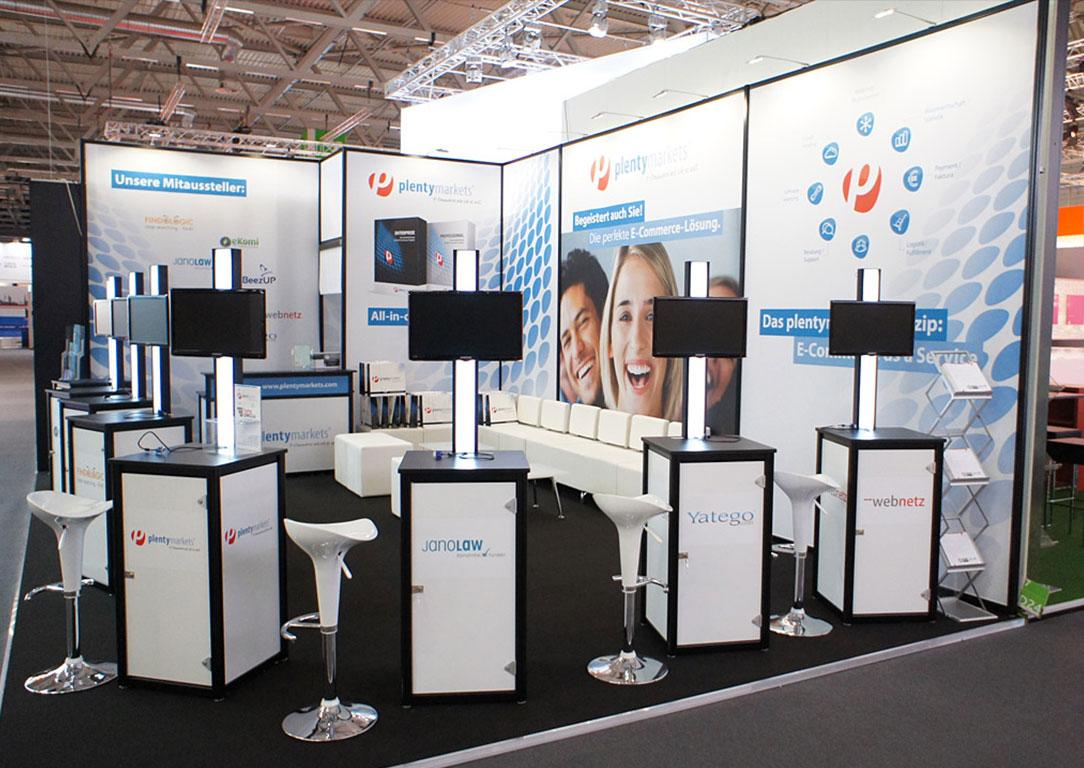Plenty Messestand bis 100qm
