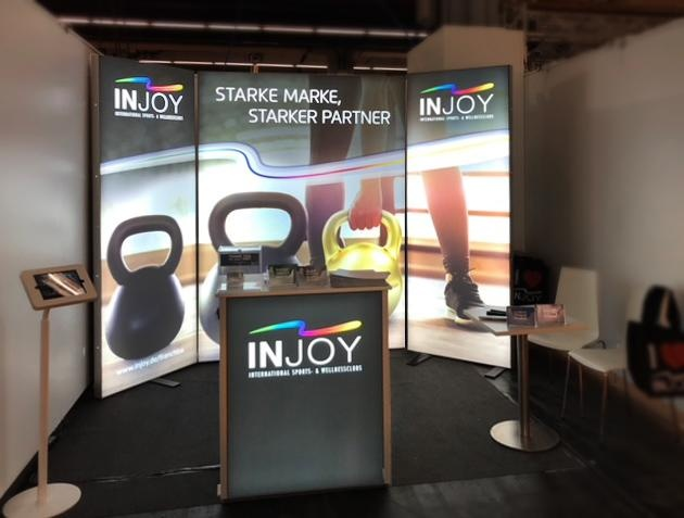 Inline Consulting Messestand bis 12qm