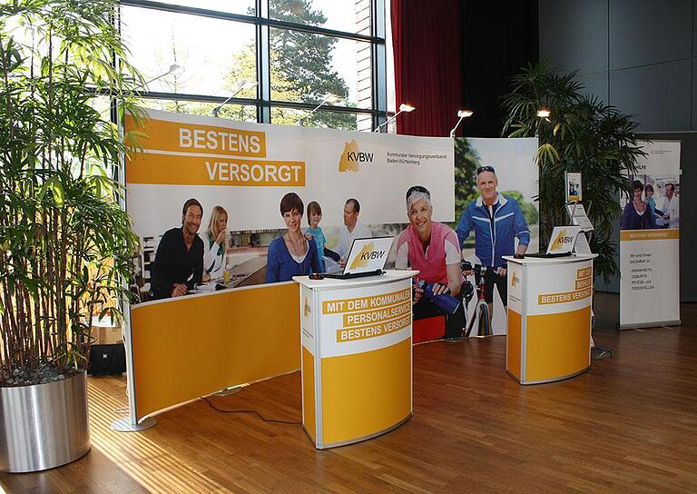 EXPOmove KVBW Messestand bis 12qm