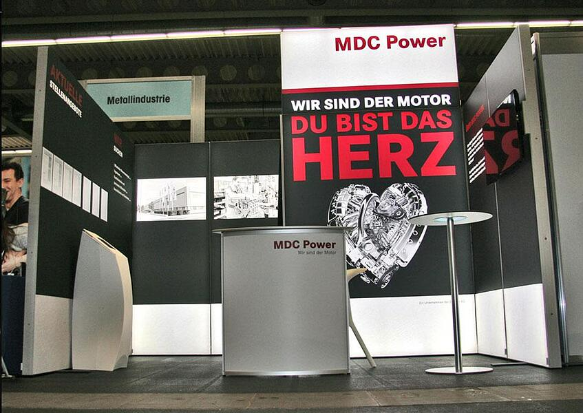 MDC Power Messestand ab 12qm