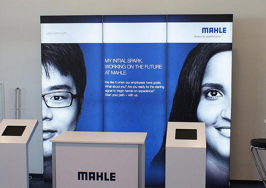 Mahle Messestand bis 12qm
