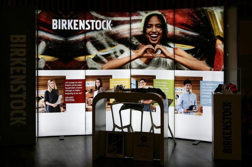 Birkenstock Messestand bis 12qm