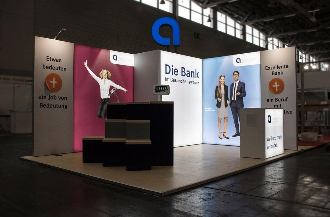 Deutsche Ärzte und Apothekerbank Messestand ab 30qm