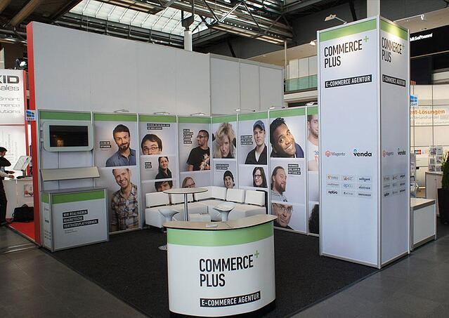 Commerce Plus 2 Messestand bis 30qm