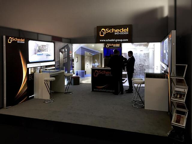 Schedel Messestand ab 30qm