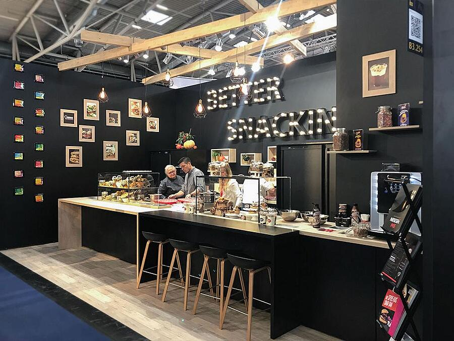 Neslté Professional iba 2018 konventioneller Messebau