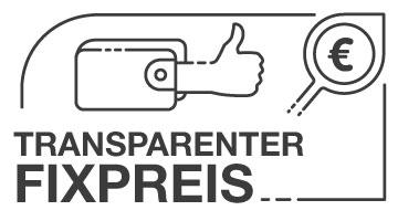 Wir bieten transparente Fixpreise dank Pauschalen