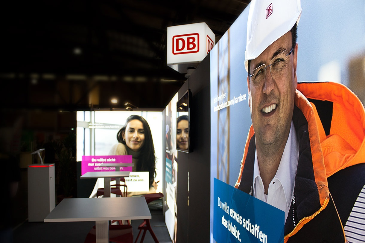 Case Study Deutsche Bahn Messestand Connecticum Berlin