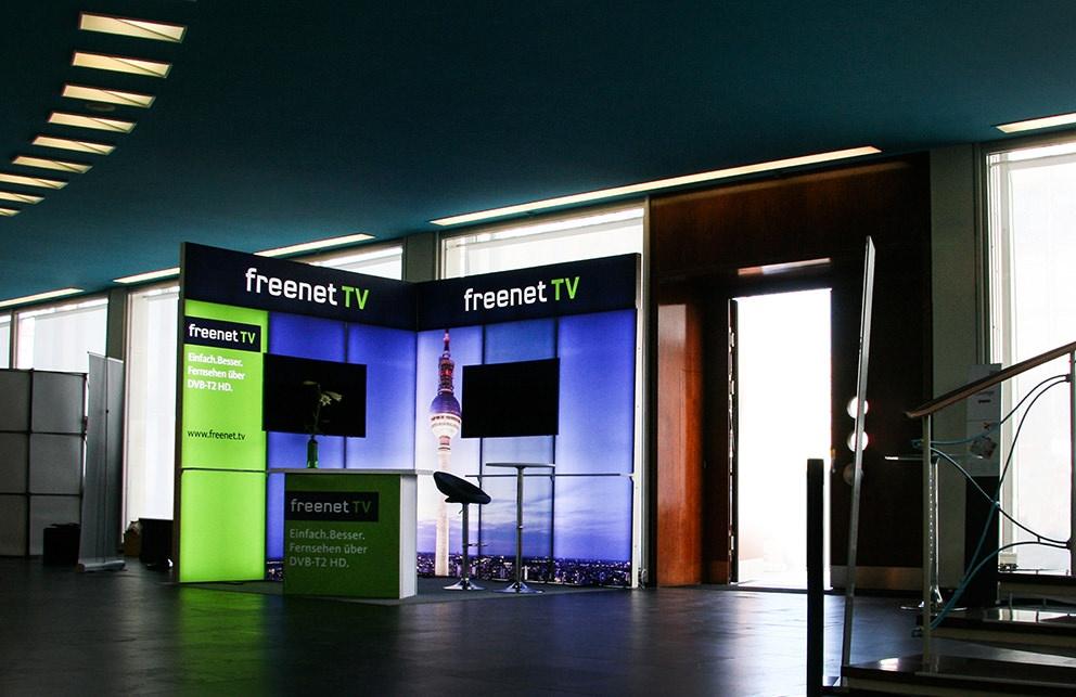Aus Mediabroadcast wird freenet.tv Messestand
