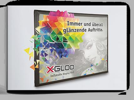 Produktbroschüre X-Gloo Display Wall