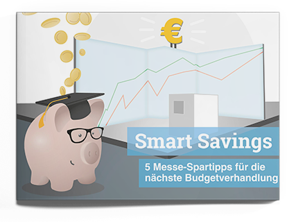 Smart Savings - 5 Messe-Spartipps