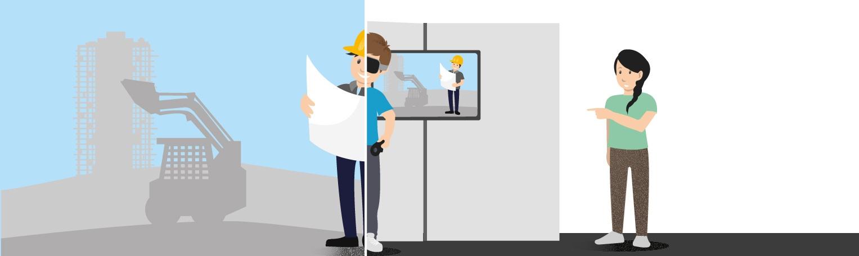 Die Zukunft der Recruiting-Messen - VR am Messestand