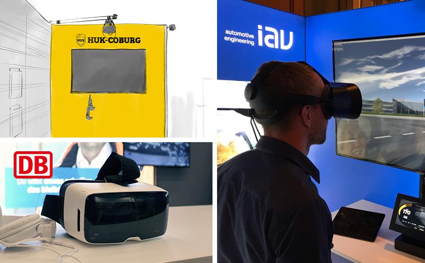 Virtual Reality: Einsatzpotenziale auf Messen
