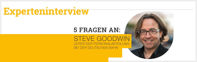 Experteninterview: 5 Fragen an Steve Goodwin - Deutsche Bahn