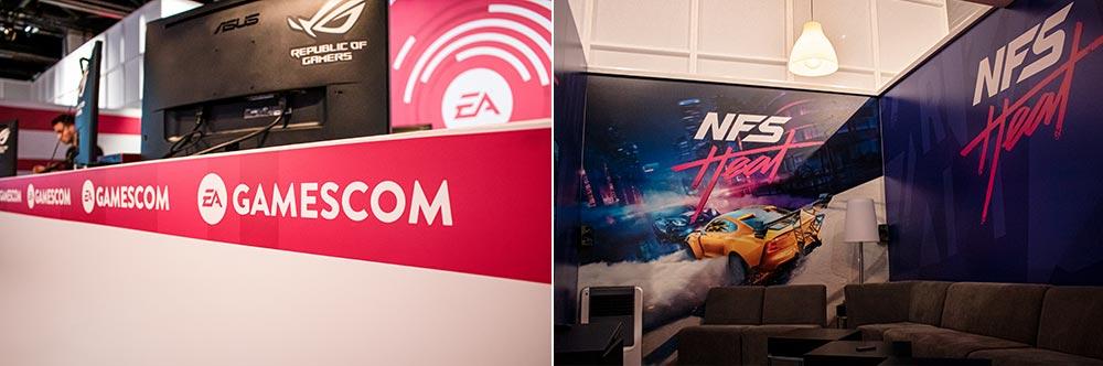 Gamescom 2019 Electronic Arts präsentiert Need for Speed Heat