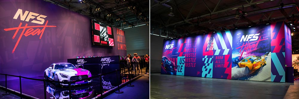 Gamescom 2019 Electronic Arts in Halle 1
