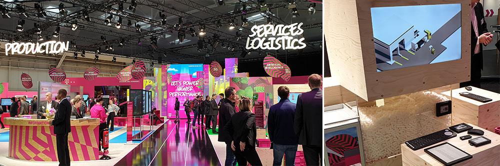 Die Deutsche Telekom auf der Hannover Messe 2019