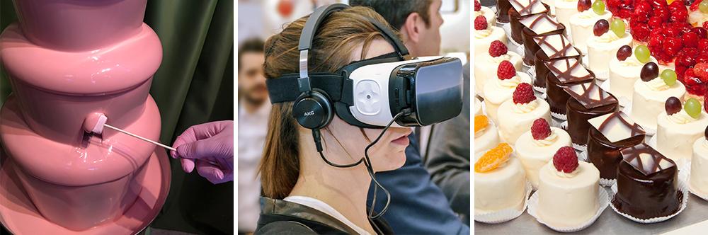Durch das richtige Catering und AKtionen wie VR-Anwendungen werden alle 5 Sinne angesprochen.