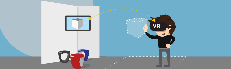 Virtual Reality erfolgreich am Messestand einsetzen