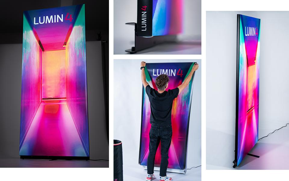 LUMIN 4 Format 85x200cm