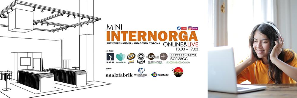 Virtuelle Messen und Livestreams am Beispiel der Mini Internorga